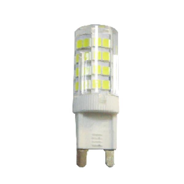 Λάμπα led diolamp g9 κεραμική 5watt ντιμαριζόμενη 230v ψυχρό λευκό 6000Κ 440lumen δέσμης 360° ΚΩΔ: G928355CWDIM