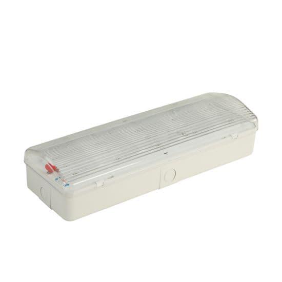 Φωτιστικό ασφαλείας led εφεδρικού φωτισμού βέλος κάτω 3watt 230v 150lumen ψυχρό λευκό 6000Κ Κωδικός : HAPES360/HAP2