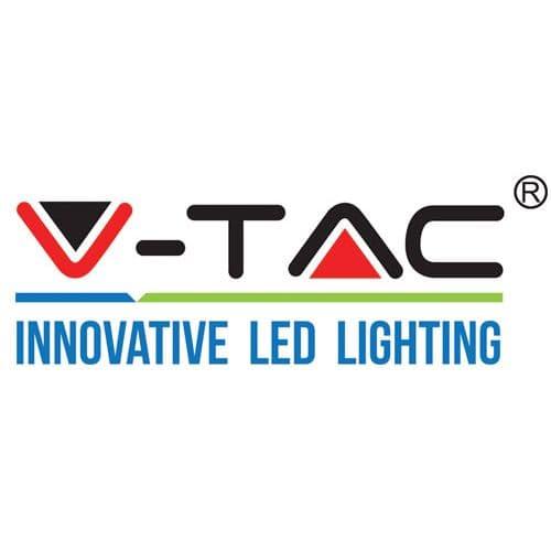 Φωτιστικό v-tac ανοξείδωτο ατσάλι στεγανό ip44 διπλής κατεύθυνσης λευκό επίτοιχο με ντουί gu10 Κωδ: 7543