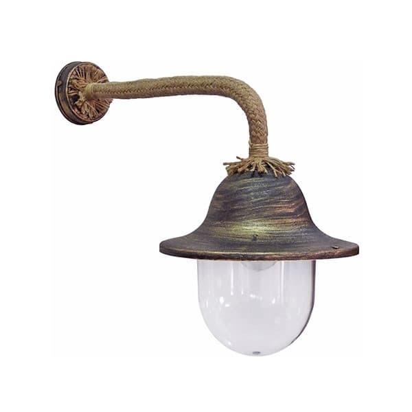 Φωτιστικό Heronia Lighting απλίκα μονόφωτη μπρονζέ LP-802AS ROPE (ντουί ε27) Κωδικός :  31-0923