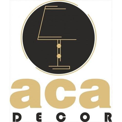 Φωτιστικό πολυέλαιος πεντάφωτο λευκό-χρυσό aca-decor 2018 580mm με ντουί ε14 Κωδικός : EG166085PW