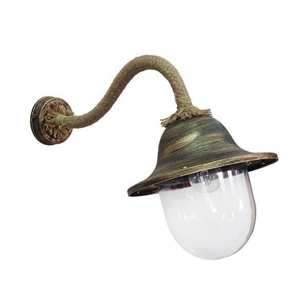 Φωτιστικό Heronia Lighting απλίκα μονόφωτη μπρονζέ LP-801AS ROPE (ντουί ε27) Κωδικός :  31-0922