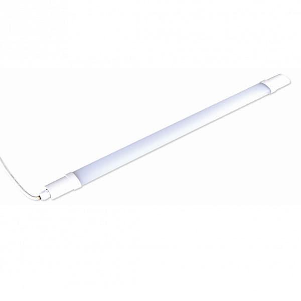 Led γραμμικό φωτιστικό 710mm 18W φυσικό λευκό 4000κ 230VAC 1570lm χωρίς διακόπτη code: TETE1840