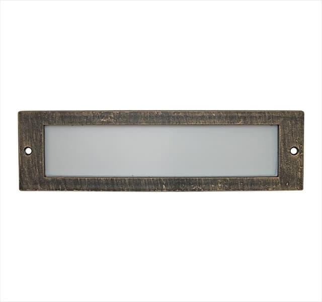 Πλαίσιο αλουμινίου ρουστίκ ορθογώνιο με γυαλί Για Φωτιστικό Διαδρόμου (Νο 3-5039) Κωδικός: 3-5039171