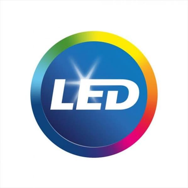 LED Φωτιστικό οροφής/πλαφονιέρα 25W/230v τετράγωνη 4000K φυσικό λευκό 2000lm με λευκό σώμα IP 44 Κωδικός: 1392 Κωδικός: 1396