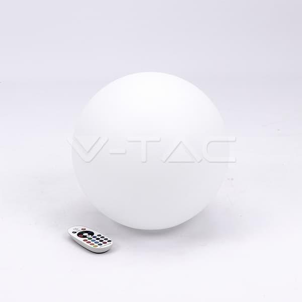 Εξωτερικό φωτιστικό LED μπαταρίας 1W RGB σφαίρα επαναφορτιζόμενο Κωδικός: 40161