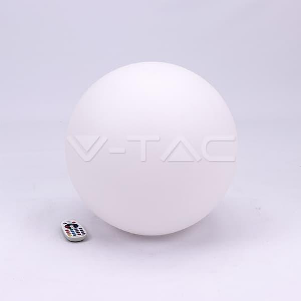 Εξωτερικό φωτιστικό LED μπαταρίας 3W RGB μπάλα επαναφορτιζόμενο Κωδικός: 40201