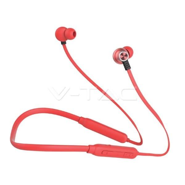 Ακουστικό Bluetooth για κινητά τηλέφωνα με καλώδιο κόκκινο Κωδικός: 7711