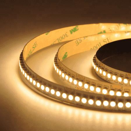 Led ταινία εύκαμπτη αυτοκόλλητη 12vdc 19.2 watt/m 240led2835/m μή στεγανή ip20 φυσικό λευκό 4000K Κωδικός: LS20-00607