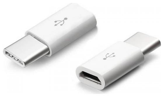 Αντάπτορας v-tac Micro USB σε USB Type C λευκός Κωδικός: 8472