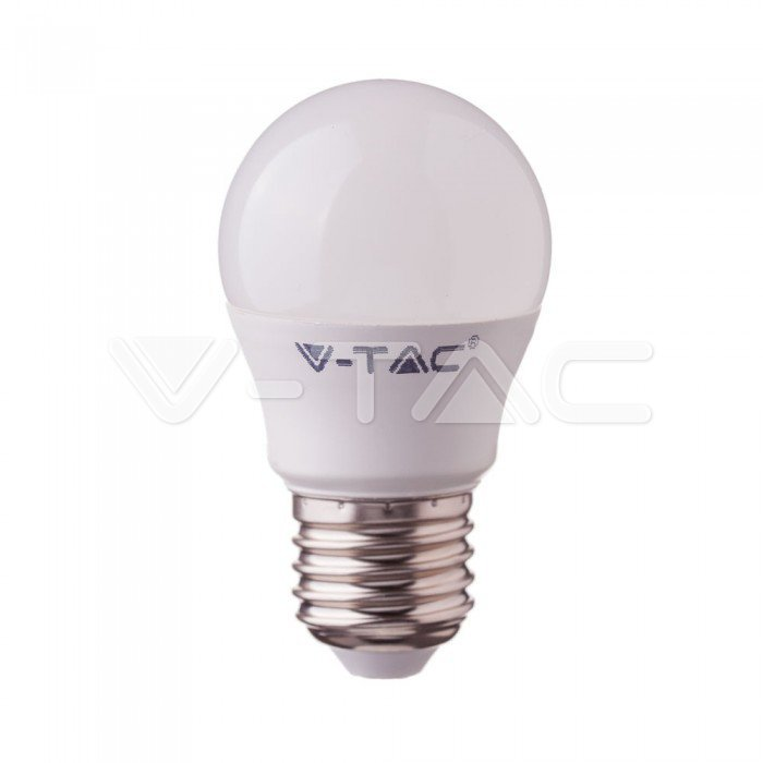 Έξυπνη λάμπα LED E27 G45 4.5W RGB + Ψυχρό λευκό + Θερμό λευκό, Συμβατή με Amazon Alexa και Google Home Κωδικός: 2755