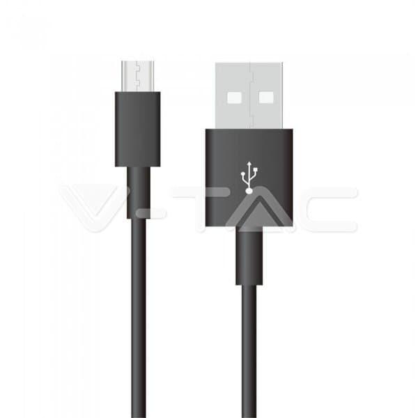 Καλώδιο Micro USB μαύρο 1m Pearl Series Κωδικός: 8481