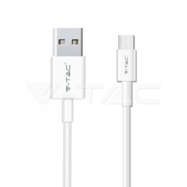 Καλώδιο USB Type C λευκό 1m Pearl Series Κωδικός: 8482