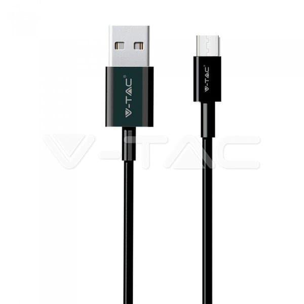 Καλώδιο USB Type C μαύρο 1m Silver Series Κωδικός: 8487