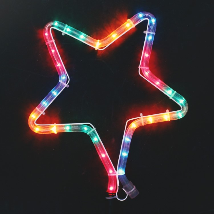 Διακοσμητικό Αστέρι 1m Πολύχρωμο - Decolight XLTUBECMF/1SP
