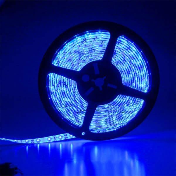 Προβολέας LED 10W Μπλέ Μαύρο σώμα E-Series Κωδικός: 5990