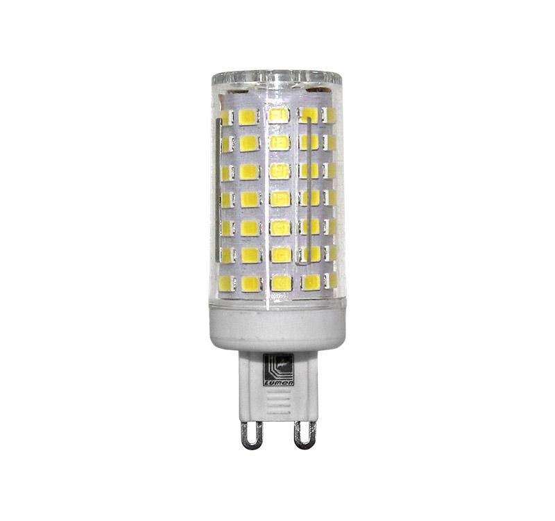 Λάμπα Led G9 Κεραμική 9W 230V Φυσικό Λευκό Φως 4000Κ 900Lumens Δέσμη 360° - Adeleq 13-9091