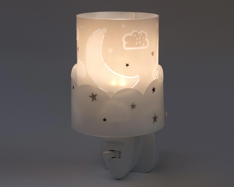 Φωτάκι Νυκτός Πρίζας Παιδικό Moon Gray 61235E - Ango