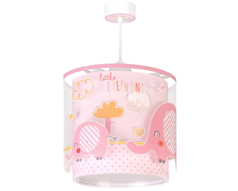 Φωτιστικό Οροφής Παιδικό Little Elephant Pink 61332S - Ango