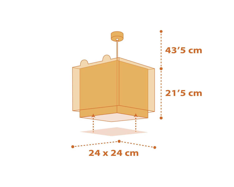 Φωτιστικό Οροφής Παιδικό Little Tiger 64562 - Ango