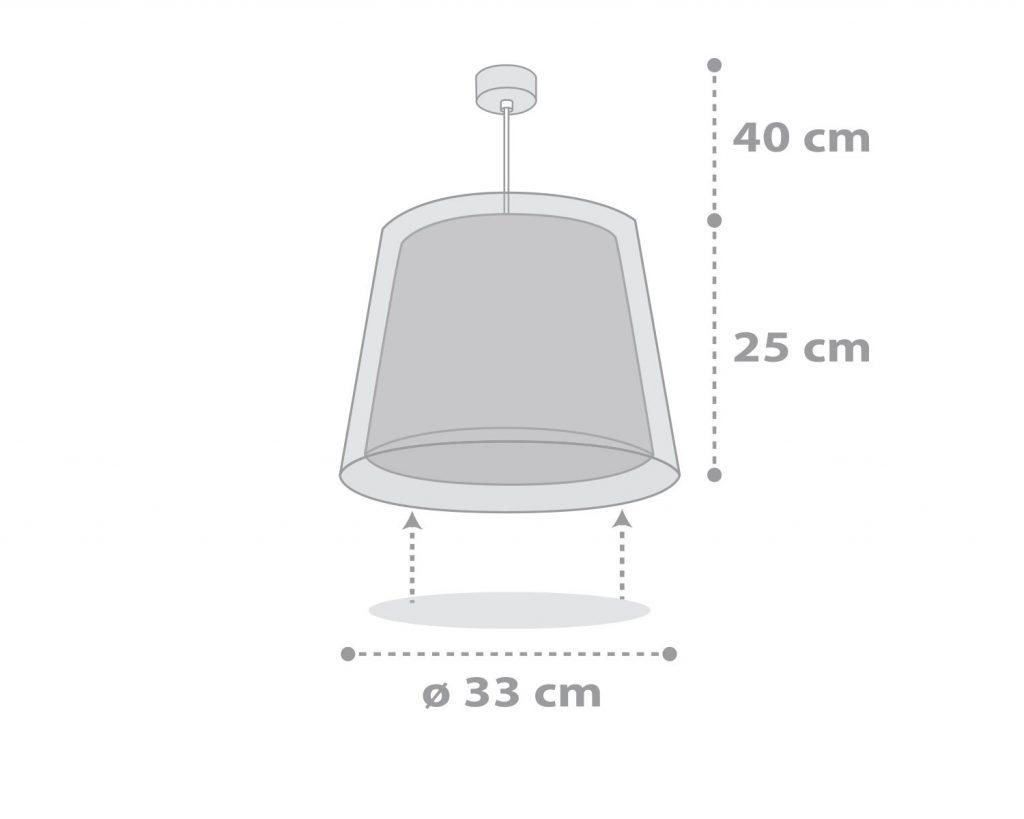Φωτιστικό Οροφής Παιδικό Light Feeling Gray 81192E - Ango