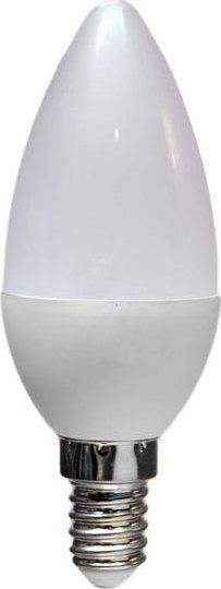 Λάμπα Led Κεράκι Ε14 6watt 230V Φυσικό Λευκό 4000Κ 530lumen - Atman-Led Ε14-00179