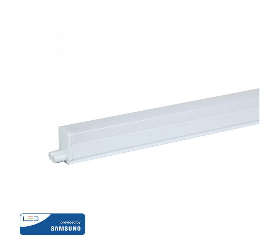 Φωτιστικό LED με διακόπτη T5 Samsung SMD 4W 300mm Ψυχρό λευκό 6400K Λευκό σώμα V-TAC Κωδικός: 691