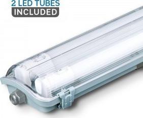 Αδιάβροχο LED φωτιστικό 2x18W 1200mm Φυσικό λευκό 4000K - Vtac 6387