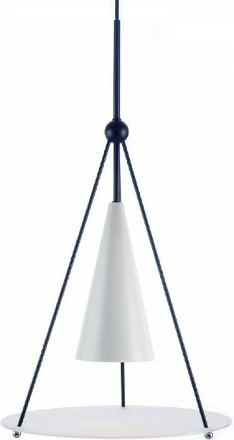 Φωτιστικό Οροφής Κρεμαστό Temple Μέταλλο & Γυαλί E27 Φ33cm HM281P33WB - Aca