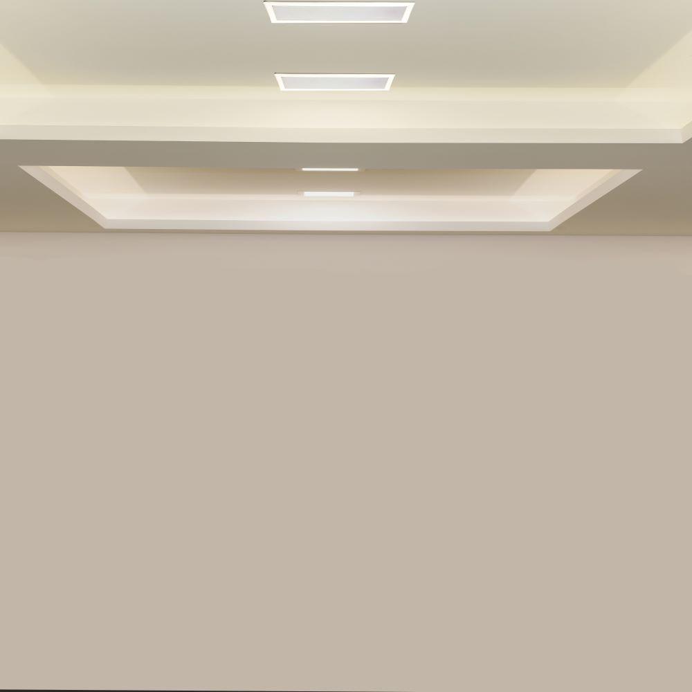 Led Panel Χωνευτό Γραμμικό Flat 20W 1600lm Θερμό Λευκό 3000Κ Λευκό Σώμα 29cm 6404 - V-TAC