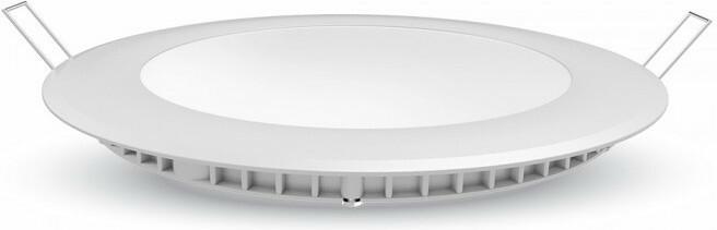 Led Panel Χωνευτό Στρογγυλό 30W 2400lm Φυσικό Λευκό 4000Κ Λευκό Σώμα Φ30cm 6428 - V-TAC