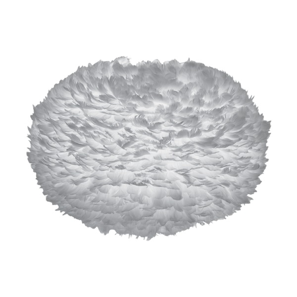 Φωτιστικό Οροφής - Δαπέδου με Πούπουλο EOS Medium White E27 Λευκό Φ45x30cm 2010 - UMAGE