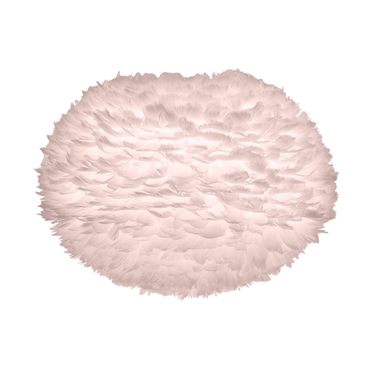 Φωτιστικό Οροφής - Δαπέδου με Πούπουλο EOS Medium Light Rose E27 Ροζ Φ45x30cm 2300 - UMAGE