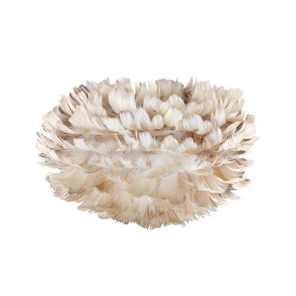 Φωτιστικό Οροφής - Πορτατίφ με Πούπουλο EOS Micro Light Brown E27 Μπεζ Φ22x16cm 2125 - UMAGE