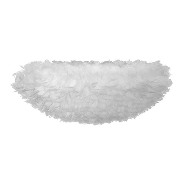 Φωτιστικό Οροφής - Τοίχου Πλαφονιέρα με Πούπουλο EOS UP Large White E27 Λευκό Φ70x27cm 2141 - UMAGE