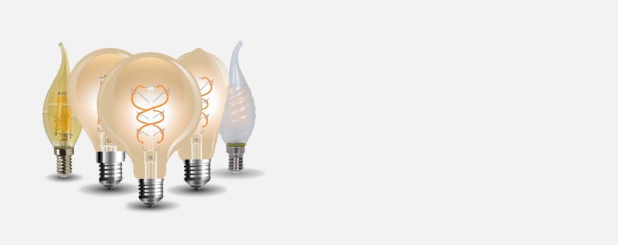 Λάμπες LED Διακοσμητικές