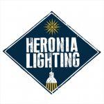 Φωτιστικό απλίκα Heronia Lighting μονόφωτη μπρονζέ με ντουί Ε14 R-104AN Κωδικός : 30-0031