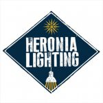 Φωτιστικό Heronia Lighting Κρεμαστό μπρονζέ R-LM-150 Φ30 Με Μεταλλικά Καπέλα Κωδικός : 30-0026