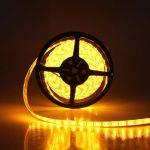 Led ταινία adeleq 12V SMD 3528 4.8W/m κίτρινο-πορτοκαλί IP54 στεγανή Kωδικός: 30-4412113