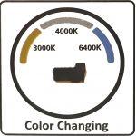 LED Πλαφονιέρα 18W Στρογγυλή 3 σε 1 φωτισμός - V-Tac 7605
