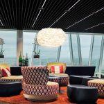 Φωτιστικό Οροφής - Δαπέδου με Πούπουλο EOS XL Light Brown E27 Μπεζ Φ75x45cm 2067 - UMAGE