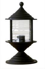Φωτιστικό Heronia Lighting κολωνάκι μονόφωτο μαύρο LP-320EX 285mm(ντουί ε27) Κωδικός : 10-0156