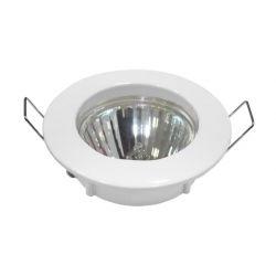 Φωτιστικό spot χωνευτό αλουμινίου στρογγυλό σταθερό λευκό