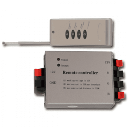 LED RGB Controller Ασύρματο (RF) με Dimmer & 4 Κουμπιά