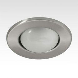Φωτιστικό σπότ μπαλκονιού χωνευτό μεταλλικό με ντουί Ε27 R63 (μεγάλο κουτί) inox 316
