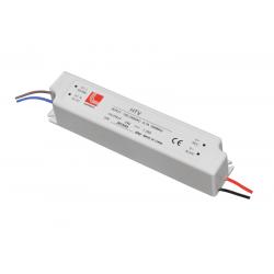 Τροφοδοτικό 15watt 0.63 amper αλουμινίου στεγανό (αδιάβροχο ip67) για ταινίες & λάμπες led 230v στα 24vdc
