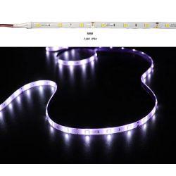 Led ταινία εύκαμπτη αυτοκόλλητη 7.2w/m 12vdc 30led5050/m  στεγανή ip54 πολύχρωμη RGB