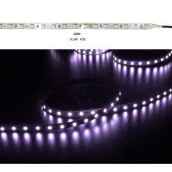 Led ταινία super bright εύκαμπτη αυτοκόλλητη 14.4w/m 24vdc 60led5630/m μή στεγανή ip20 πολύχρωμη RGB