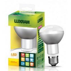 Λάμπα led luxram τύπου καθρέπτου R63 E27 6watt 230v θερμό λευκό 3000Κ 550lumen 15000ώρες