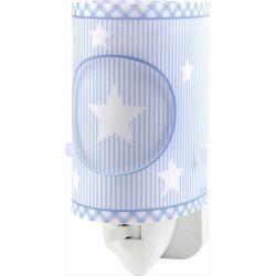 Παιδικό φωτιστικό νυκτός πρίζας sweet dreams blue μπλέ με led 0.5watt & διακόπτη on/off